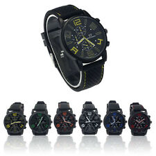 Watches Mens Luxury Stainless Steel Luxury Sport Analog Quartz Watch WristWatch