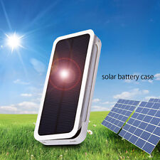Solar Power Backup External Battery Charger Case for Apple iPhone 5/5S 6/6 Plus