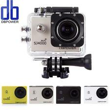 DBPOWER CAM SPORT DV SJ4000 WiFi HD 1080p 12MP VIDEOCAMERA ACTION CAMERA PRO