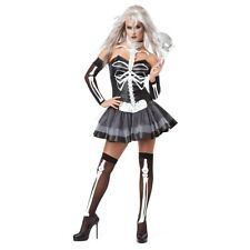 Sexy Skeleton Costume Adult Female Halloween Fancy Dress