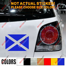 Flag of Scotland Scottish  Car Decal Sticker