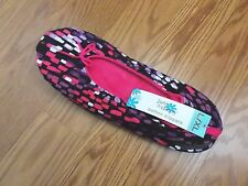 NWT Womens JUNE DAISY Pink Multi Slippers Size S,M,L,XL Shoe Size 7-10