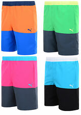 New Mens Puma Bermuda Swim Beach Swim Swimming Surf Board Shorts Summer Holidays