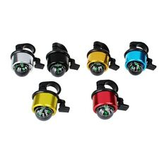 Multicolour Compass Metal Ring Handlebar Bell Sound For Bike Bicycle Five Color