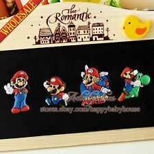 4PCS Super Mario Refrigerator Magnets,Magnetic Stick Fridge Magnets,kids gifts
