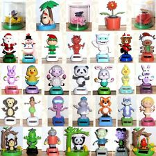 Solar Power Dancing Panda Unicorn Fox Blinking Owl & More! You Choose!  *New*