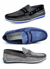 Bruno HOMME MODA ITALY SEBA-5 Men's Fashion Driving Casual Moccasin Boat shoes