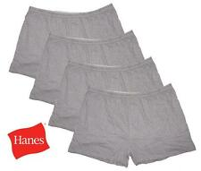 Hanes Gray Men's TAGLESS Boxers with Comfort Flex Waistband 4-Pack 3XL-5XL