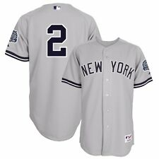 2011 Derek Jeter New York Yankees Authentic Road Jersey w/ DJ3K 3000 Hits Patch