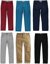 Boy's Chinos 100% Cotton 8-16 Years BNWT