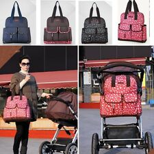 2015 Baby diaper Nappy Backpack Changing Bag Mummy Tote Handbag Shoulder bags