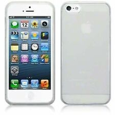 iPhone 5 / 5S TPU Gel Skin Case / Cover / Protector & Free Screen Protector