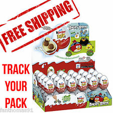 SPECIAL PRICE!!! 1x KINDER JOY ANGRY BIRDS CHOCOLATE PLASTIC EGGS TOY SURPRISE