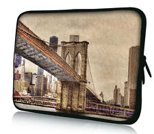 "Bridge 10"" Sleeve Carrying Case Bag Cover Fr 9.7""-10.2"" Netbook Laptop Tablet PC"