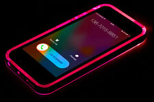 LED Flash Light UP Remind Incoming Call Cover Case Skin For iPhone 6/6S Plus 5S