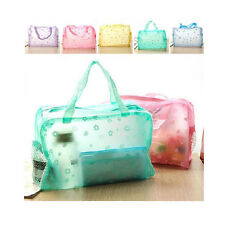 Style Utility Floral Crystal Makeup Beauty Storage Travelling Bath Bag NEW FG UK