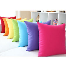 Fad Soft Jelly Candy Colors Design MicroSuede Pillow Case Cushion Cover FG UK