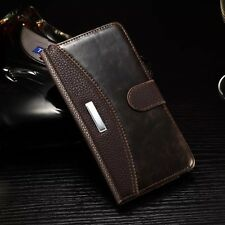 Luxury PU Leather Magnetic Flip Wallet Case Covers For Samsung Galaxy Cell Phone