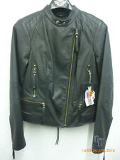 Harley Davidson Ladies' Satisfaction Leather Jacket - 97139-09VW- Small- Reduced