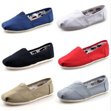 Canvas Shoes Women Fashion Casual Flat Shoes Espadrille TOMS