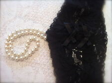 Bracli Classic Single Strand of Pearl Thong in Black 10/12/14 Sex in the city