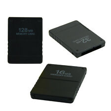 8MB 16MB 32MB 128MB Memory Card Store Card For Sony PlayStation 2 PS2 Game