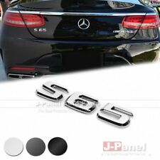 S65 REAR BOOT TRUNK LETTER EMBLEM BADGE for MERCEDES BENZ S CLASS W220 W221 W222