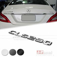 CLS250 REAR BOOT TRUNK LETTER EMBLEM BADGE for MERCEDES BENZ CLS CLASS W218 AMG