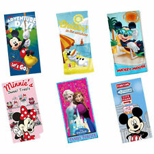 Disney: Beach/Bath Towel Official Mickey Mouse Minnie Mouse Frozen - New + Tag