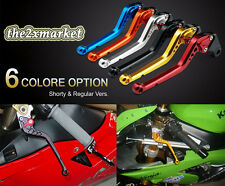 8 colore option Clutch Brake Levers For Yamaha YZF R6 99-2004 YZF R1 2002-2003