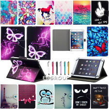 "US For 7"" 8"" 10"" 10.1"" Tablet PC Popular Universal Leather Stand Case Cover +Pen"