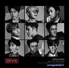 SUPER JUNIOR DEVIL Special Album : CD w/booklet+ Poster + Gift Photo, SUJU