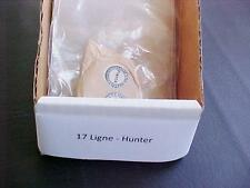 Glass NOS Pocket Watch Crystal Ligne 17 Hunter Style VTF SELECT SIZE/HEIGHT