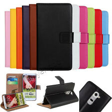 Flip Leather Luxury Magnetic Wallet Card Holder Case Cover For LG Smart Phones