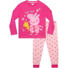 Peppa Pig Pyjamas | Girls Peppa Pig PJs | Peppa Pig Pyjama Set | Peppa and Teddy