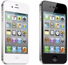Apple iPhone 4s 8GB GSM Unlocked Smartphone Dual Camera Black & White New Other