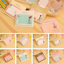 30 Page Vintage Memo Post It Notes Message Pad Label To Do List Sticky Notepad