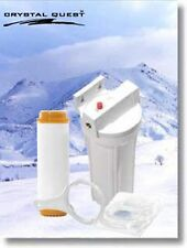 CRYSTAL QUEST® Refrigerator/In-line Fluoride Water Filter Systems