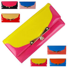 Women New Fashion Wallet Candy color Handbag Purses Lady Bag Clutch Bag