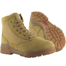 Magnum Classic Military Mid Patrol Boots Padded Mens Army Combat Footwear Wheat