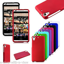Multicolor Rigid Rubberized HARD Snap On Phone Cover Case for HTC Desire626/626S