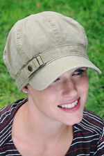 Hats for Cancer Patients: Buckle Newsboy Chemo Cap