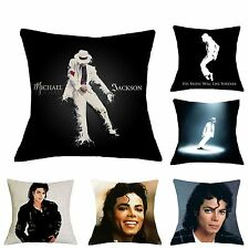 Michael Jackson Printed Cushion Cover Shell Moonwalk Bed Sofa Couch Pillow Case