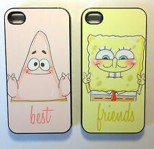 Sponge bob best friend phone cases for the Iphone and Samsung Galaxy