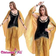 Ladies Cleopatra Cleo Egyptian Costume Roman Goddess Cosplay Fancy Dress Outfits