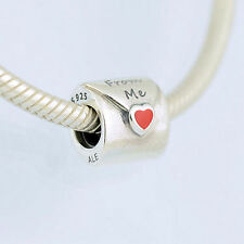 "Authentic Pandora Sterling Silver 925 ALE ""From Me"" Love Letter 790894EN09 Charm"