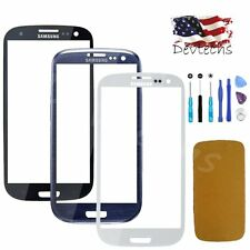 Front Screen Glass Lens Replacement Repair Kit Tool for Samsung Galaxy S3 i9300