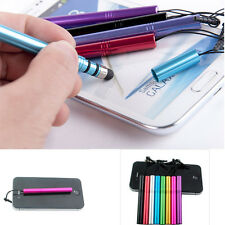 8 Colors Universal Metal Anti Dust Cap Stylus Touch Screen Pen For iPhone 5S/5/4