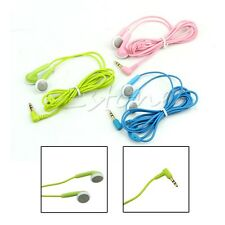 3.5mm In-Ear Earbud Earphone Headphone Headset For iPhone 5S Samsung MP3 PC iPod