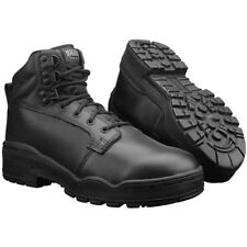 Magnum Patrol Cen Tactical Mens Military Police Security Leather Boots Black